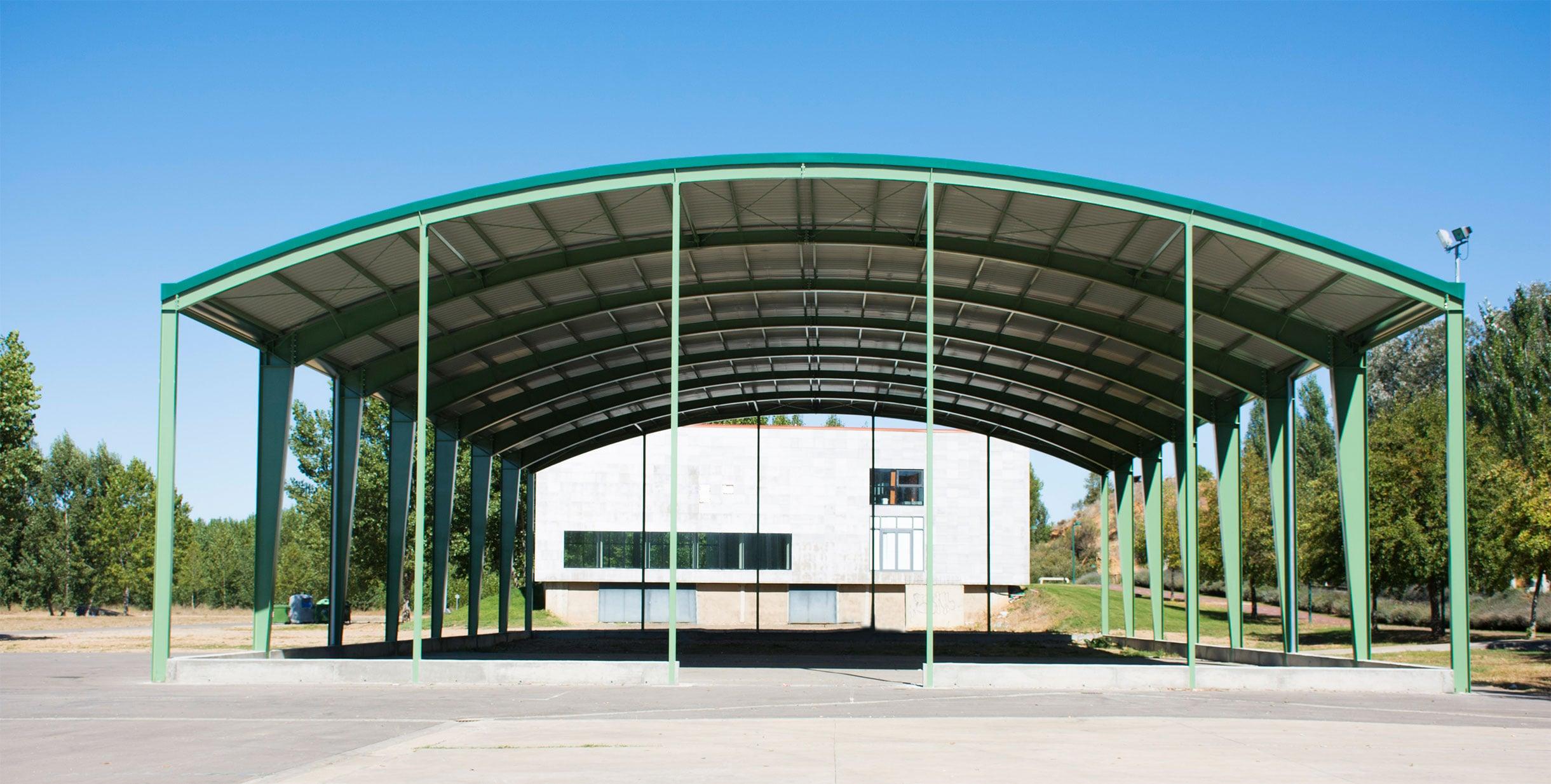 Esguín - Edificio multiusos LEÓN